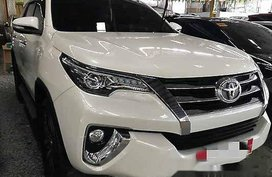 White Toyota Fortuner 2016 Automatic Diesel for sale in General Salipada K. Pendatun