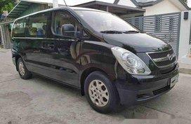 Black Hyundai Grand Starex 2013 Manual Diesel for sale in Cavite City