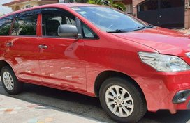 Selling Red Toyota Innova 2015 in Quezon City