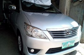 Selling Toyota Innova 2013 at 80000 km in Baguio