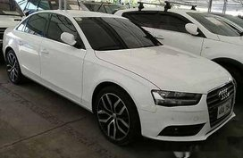 Sell White 2014 Audi A4 at 23500 km for sale