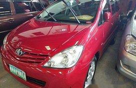 Selling Red Toyota Innova 2011 Manual Diesel