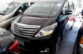 Black Toyota Alphard 2013 at 58183 for sale