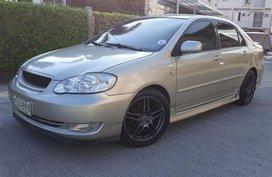 2nd Hand Toyota Corolla Altis 2003 Manual Gasoline for sale in Las Piñas