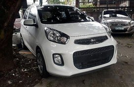 Selling White Kia Picanto 2016 Automatic Diesel for sale