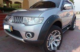Silver Mitsubishi Montero Sport 2009 at 42000 km for sale in Quezon City