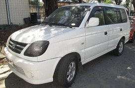 White Mitsubishi Adventure 2016 Manual Diesel for sale Manila