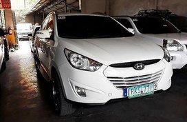 White Hyundai Tucson 2011 Automatic Gasoline for sale in Manila