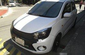 Selling White Suzuki Celerio 2017 Automatic Gasoline for sale