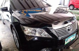 Selling Black Toyota Camry 2012 Automatic Gasoline for sale in Quezon City