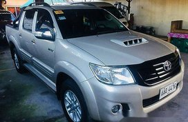 Selling Silver Toyota Hilux 2014 at 26000 km for sale