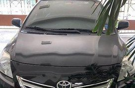 Black Toyota Vios 2011 for sale in Manual