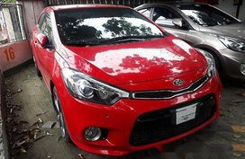 Sell Red 2016 Kia Forte at Automatic Gasoline at 14643 km