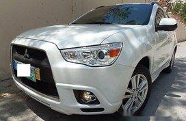 White Mitsubishi Asx 2011 Automatic Gasoline for sale in Quezon City