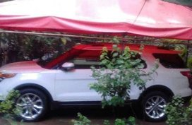 White Ford Explorer 2013 Automatic Gasoline for sale in Makati