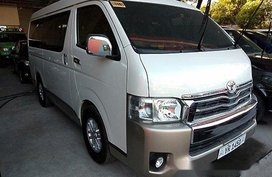 Selling White Toyota Hiace 2016 Automatic Diesel for sale