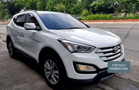 2nd Hand Hyundai Santa Fe 2014 Automatic Diesel for sale in Quezon City