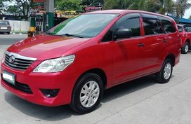 Sell Red 2014 Toyota Innova at Manual Diesel at 85000 km in Meycauayan