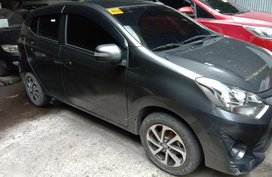 2nd Hand Toyota Wigo 2017 for sale in Quezon City
