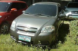 Sell Silver 2011 Chevrolet Aveo at Manual Gasoline at 102769 km for sale