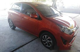 Sell Orange 2018 Toyota Wigo at 5000 km for sale