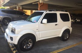 Selling White Suzuki Jimny 2016 SUV at Manual Gasoline in Quezon City