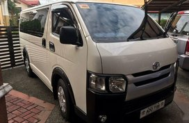 2nd Hand Toyota Hiace 2016 Manual Diesel for sale in Quezon City