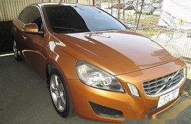 Orange Volvo S60 2013 at 35150 km for sale in Cebu City