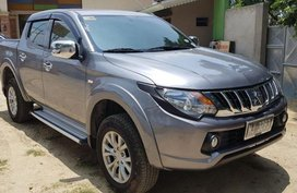 2nd Hand Mitsubishi Strada 2015 Automatic Diesel for sale in Quezon City