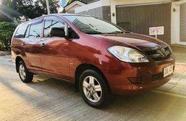 Toyota Innova 2005 Manual Gasoline for sale in Quezon City
