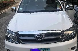 Selling Toyota Fortuner 2008 Automatic Gasoline in Antipolo