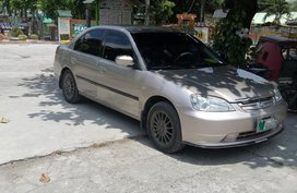 Selling 2nd Hand Honda Civic 2001 Automatic Gasoline at 130000 km in San Jose