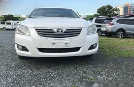 Sell White 2008 Toyota Camry at Automatic Gasoline at 85000 km for sale