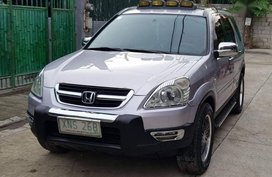 Sell 2nd Hand 2003 Honda Cr-V Automatic Gasoline at 89000 km in Quezon City