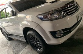 Sell White 2016 Toyota Fortuner at Manual Diesel at 13000 km in Quezon City