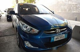 Selling Blue Hyundai Accent 2017 for sale