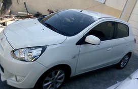 2nd Hand Mitsubishi Mirage 2014 Hatchback for sale in Parañaque