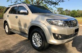 Selling 2nd Hand Toyota Fortuner 2012 at 80000 km in Davao City