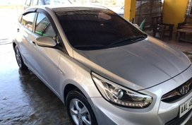 2nd Hand Hyundai Accent 2014 Manual Gasoline for sale in Binmaley