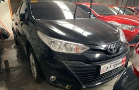 Selling Black 2019 Toyota Vios in Quezon City