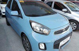 Sell Blue 2017 Kia Picanto at Automatic Gasoline at 7000 km