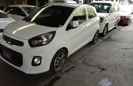 Selling 2nd Hand Kia Picanto 2017 Manual Gasoline at 30000 km in Quezon City