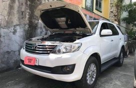 Toyota Fortuner 2012 Automatic Diesel for sale in Manila