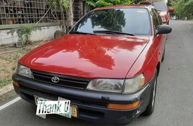 Red Toyota Corolla 1993 for sale in Manual