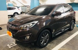 Selling Hyundai Tucson 2014 Automatic Gasoline in Makati