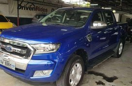 2nd Hand Ford Ranger 2016 for sale in Quezon City