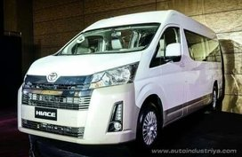 Sell Brand New 2019 Toyota Hiace Automatic Diesel in Makati