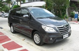 2nd Hand Toyota Innova 2014 Automatic Diesel for sale in Quezon City