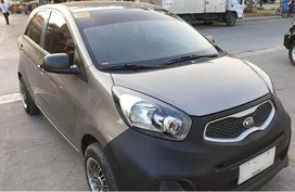 Selling Gray 2013 Kia Picanto Gasoline Manual in Quezon