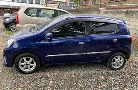Sell Blue 2nd Hand 2015 Toyota Wigo in Santiago